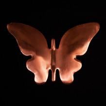 Papillon en cuivre 11x 6