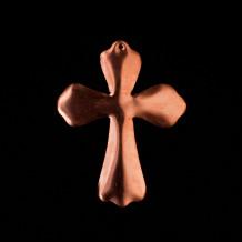 Croix percée feston